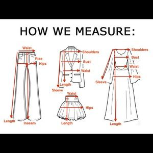 Other - How we measure garments